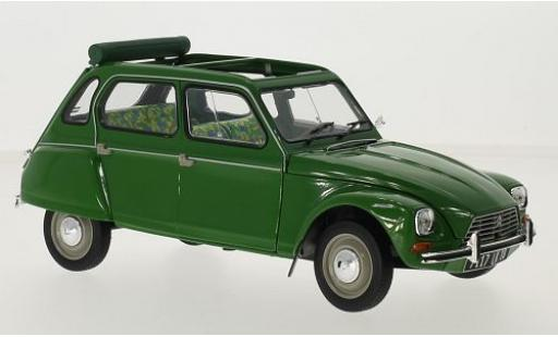 Citroen Dyane 1/18 Norev 6 green 1975 diecast model cars