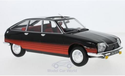Citroen GS 1/18 Norev Basalte black/red 1978 diecast model cars