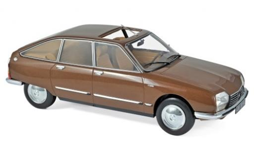 Citroen GS 1/18 Norev Pallas marron 1978 miniature