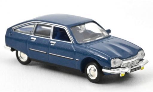 Citroen GS 1/87 Norev Pallas metallise blue 1977 diecast model cars