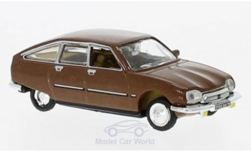 Citroen GS 1/87 Norev Pallas métallisé marron 1978 miniature