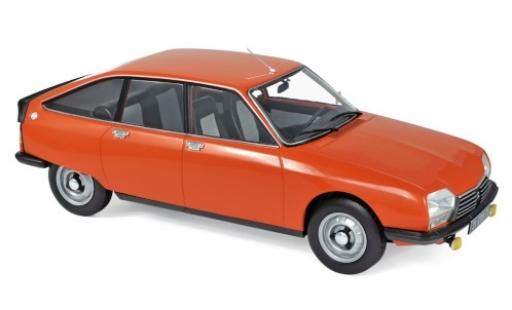 Citroen GS 1/18 Norev X2 orange 1978 diecast