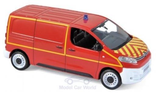 Citroen Jumpy 1/43 Norev Pompiers (F) 2018 diecast model cars