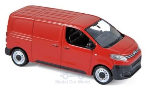 Citroen Jumpy 1/43 Norev red 2016 diecast