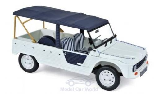 Citroen Mehari 1/18 Norev Azur white/blue 1983 diecast model cars