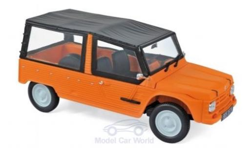 Citroen Mehari 1/18 Norev orange 1983 diecast model cars