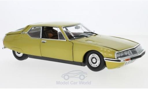 Citroen SM 1/18 Norev gold 1971 miniature