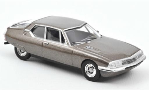 Citroen SM 1/64 Norev metallise brown 1972 diecast model cars