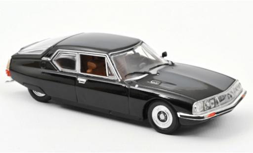 Citroen SM 1/43 Norev black 1970 diecast model cars