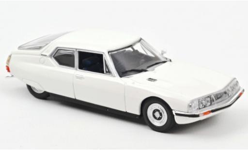 Citroen SM 1/43 Norev white 1970 diecast model cars