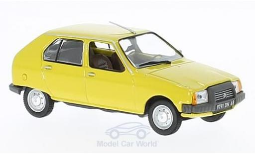 Citroen Visa 1/43 Norev Club yellow 1979 diecast model cars
