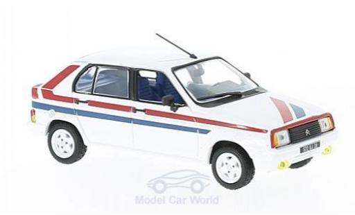 Citroen Visa 1/43 Norev II Chrono white/Dekor 1982 diecast model cars