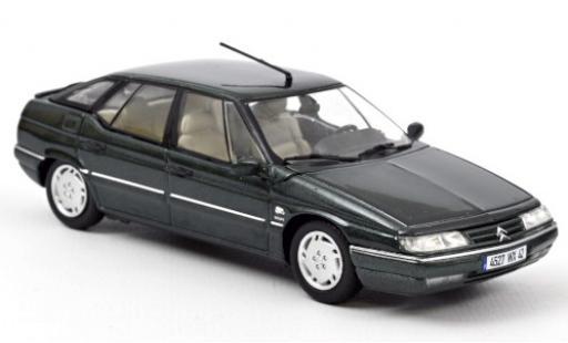 Citroen XM 1/43 Norev metallise verte 1995 miniature