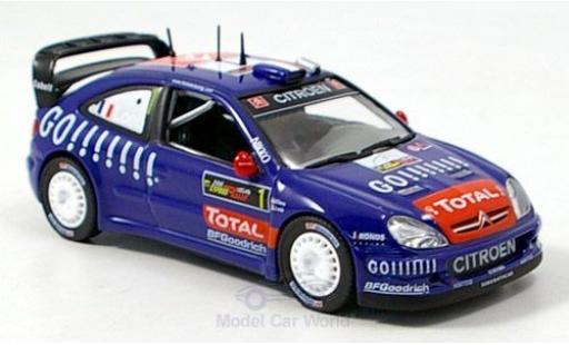 Citroen Xsara 1/43 Norev WRC No.1 Kronos Rallye WM Rallye Zypern 2006 S.Loeb/D.Elena miniature