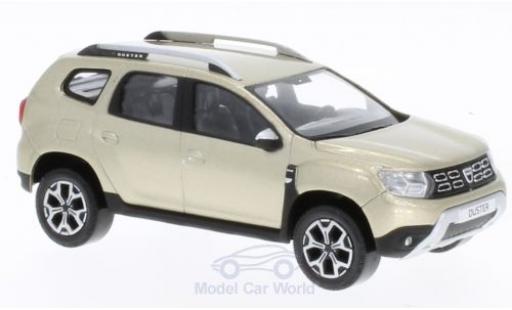 Dacia Duster 1/43 Norev metallise beige 2018 miniature