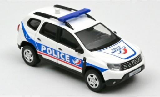 Dacia Duster 1/43 Norev Police Nationale (F) 2018 miniature