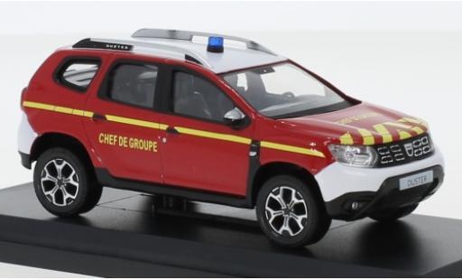 Dacia Duster 1/43 Norev Pompiers - Chef de Groupe 2018 modellautos
