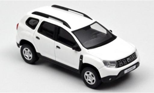 Dacia Duster 1/43 Norev white 2018 diecast model cars