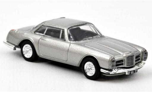 Facel Vega II 1/87 Norev Coupe grey 1961 diecast model cars