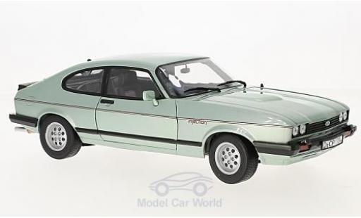 Ford Capri 1/18 Norev MK III 2.8 Injection metallic-hellgrün 1982 miniature