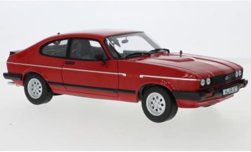 Ford Capri 1/18 Norev MkIII 2.8i Injection rot 1983 modellautos