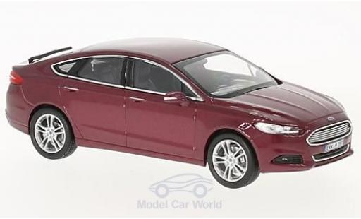 Ford Mondeo 1/43 Norev metallise red 2014 diecast model cars