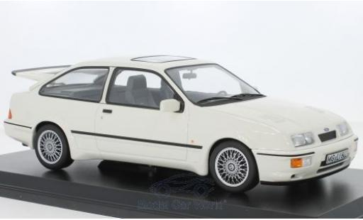 Ford Sierra 1/18 Norev RS Cosworth blanche 1986 miniature