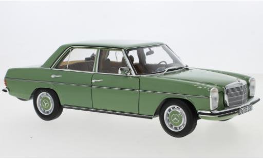 Mercedes 200 1/18 Norev /8 green 1973 diecast model cars