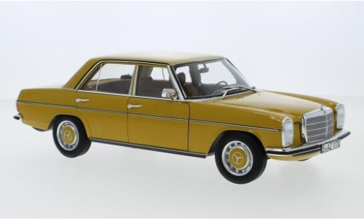 Mercedes 200 1/18 Norev /8 (W115) yellow 1973 diecast model cars