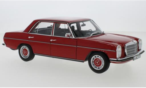 Mercedes 200 1/18 Norev /8 (W115) red 1973 diecast model cars