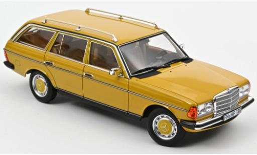 Mercedes 200 1/18 Norev T (S123) jaune 1982 miniature