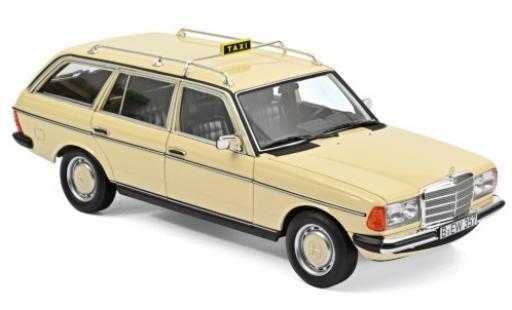 Mercedes 200 1/18 Norev T (S123) beige Taxi (D) 1982 diecast model cars
