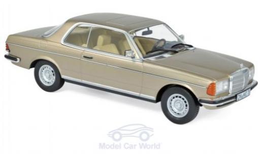 Mercedes 280 1/18 Norev CE (C123) métallisé beige 1980 miniature