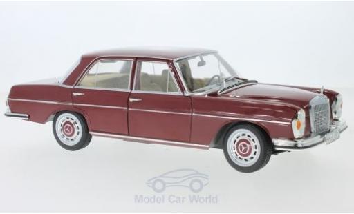 Mercedes 280 1/18 Norev SE rouge 1968 miniature