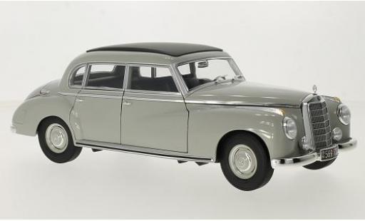 Mercedes 300 1/18 Norev (W186) grise 1955 miniature