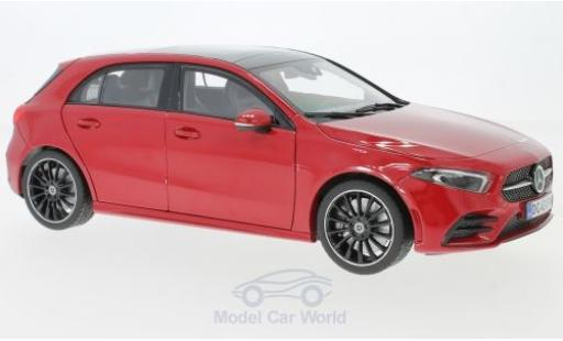 Mercedes Classe A 1/18 Norev (W177) red 2018 diecast model cars