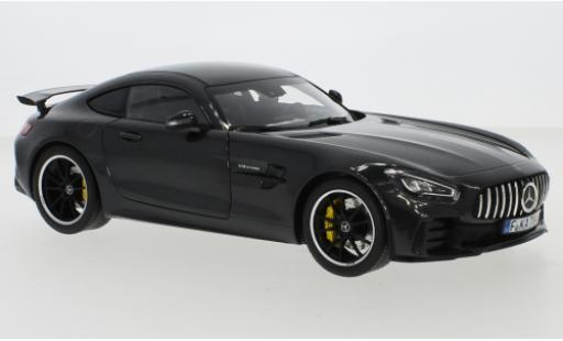 Mercedes AMG GT 1/18 Norev R (C190) metallise grey 2019 diecast model cars