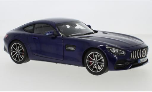Mercedes AMG GT 1/18 Norev S (C190) metallise blue 2019 diecast model cars