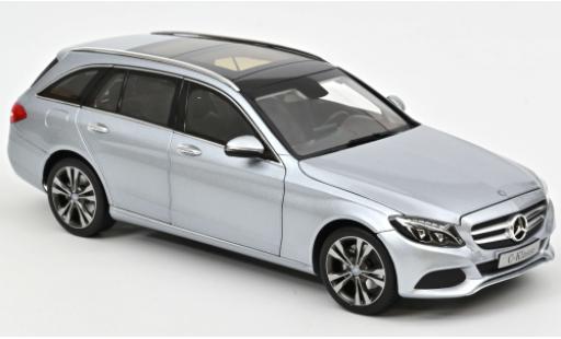 Mercedes Classe C 1/18 Norev T-Modell (S205) grise 2014 miniature