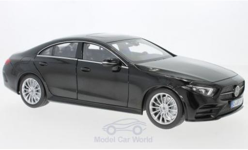 Mercedes CLA 1/18 Norev CLClasse S black 2018 diecast model cars