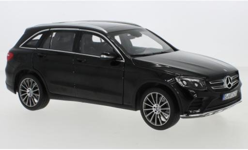 Mercedes Classe GLC 1/18 Norev GLC (X253) black 2015 diecast model cars