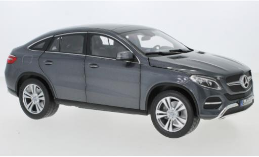 Mercedes Classe GLE 1/18 Norev GLE Coupe (C292) metallise grey 2015 diecast model cars