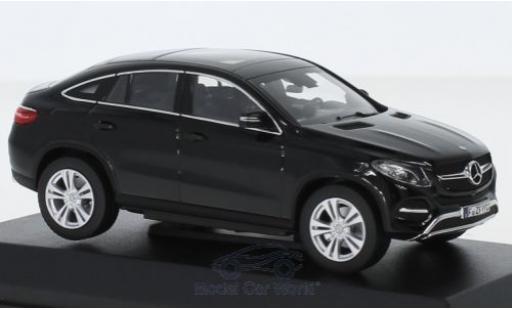 Mercedes Classe GLE 1/43 Norev GLE Coupe noire 2015 miniature
