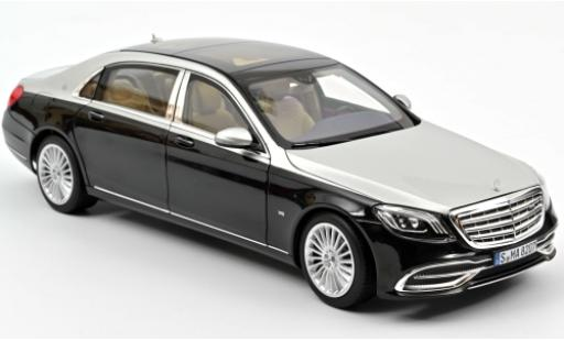 Mercedes Classe S 1/18 Norev Maybach S 650 metallise black/grey 2018 diecast model cars