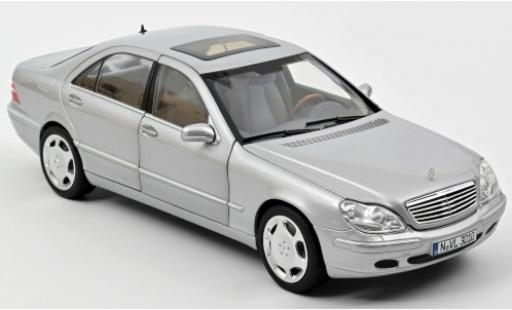 Mercedes Classe S 1/18 Norev S 600 (W220) grise 1998 miniature