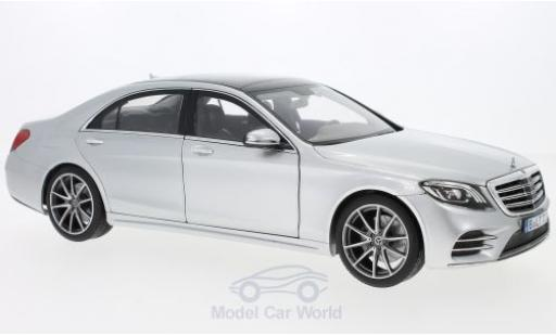 Mercedes CLA 1/18 Norev S-Class AMG Line grey 2018 diecast model cars