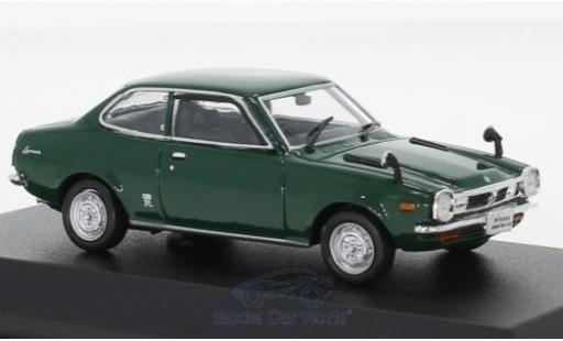 Mitsubishi Lancer 1/43 Norev 1600 GSR verte RHD 1973 miniature