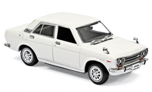 Nissan Bluebird 1/43 Norev 1600 SSS bianco RHD 1969 modellino in miniatura
