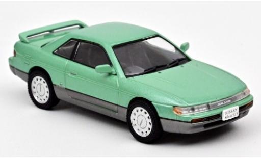 Nissan Silvia 1/43 Norev (S13) metallise grün RHD 1988 modellautos