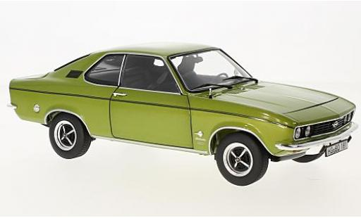 Opel Manta 1/18 Norev A 1900 Berlinetta metallise grün 1975 modellautos